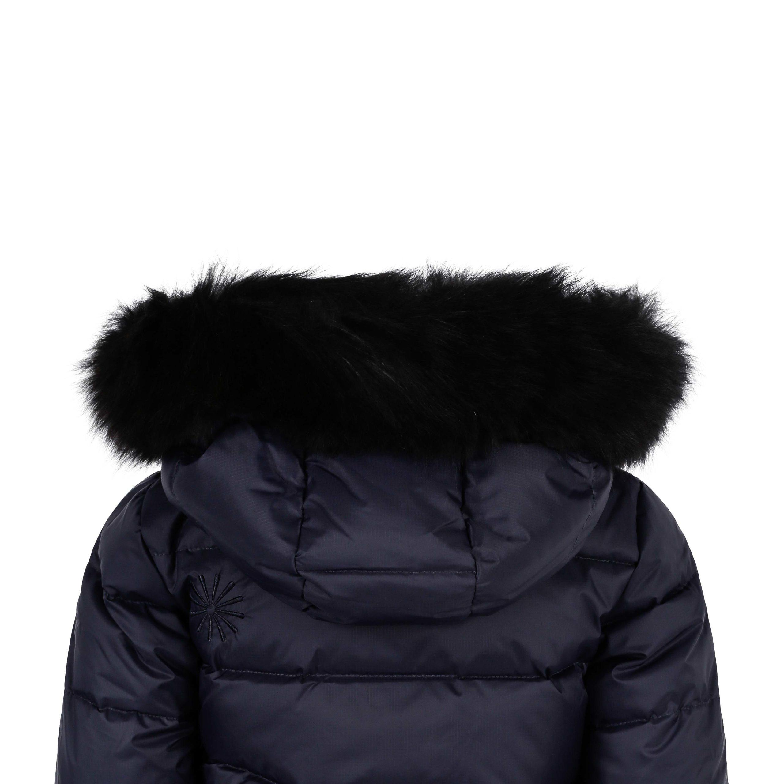 Polaris dunkåpe uten pels, brun oliven Fleischer Couture